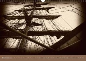 Old Times at Sea / UK Version (Wall Calendar 2015 DIN A3 Landsca