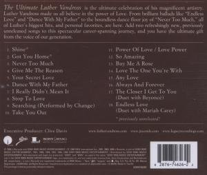 "The Ultimate Luther Vandross & ""Shine"" Single"