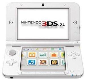 Nintendo 3DS XL - Konsole, weiss