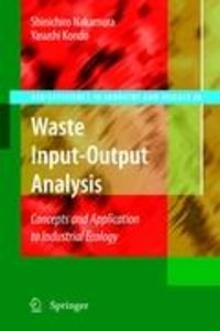 Waste Input-Output Analysis