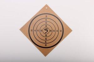 BestSaller 1209 - Zielscheibe aus Holz