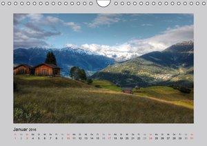 Idyllische Hütten und Hochalmen (Wandkalender 2016 DIN A4 quer)