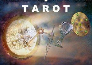 Tarot / Geburtstagskalender (Wandkalender immerwährend DIN A2 qu