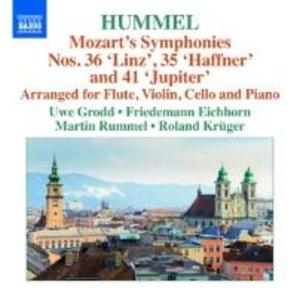Sinfonien 35,36,41 (arr.J.N.Hummel)
