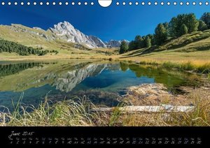 Dolomites / UK-Version (Wall Calendar 2015 DIN A4 Landscape)