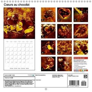 Coeurs au chocolat (Calendrier mural 2015 300 × 300 mm Square)