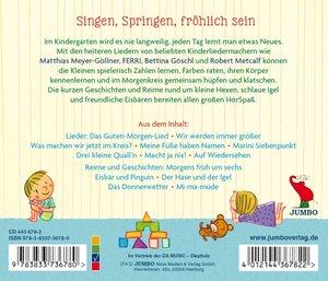 Wie Schön-Ich Gehe In Den Kindergarten! Lieder,