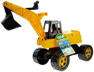 LENA 02017 - Starke Riesen Bagger, schwarz/gelb, 63 cm