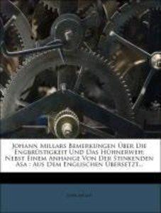 Johann Millars Bemerkungen über die Engbrüstigkeit und das Hühne