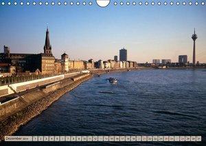 Spaziergang durch Düsseldorf (Wandkalender 2014 DIN A4 quer)