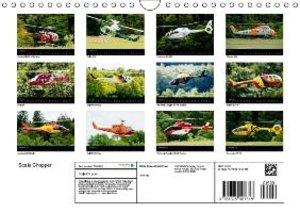 Scale Chopper (Wall Calendar 2015 DIN A4 Landscape)