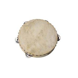 Goki UCO85 - Tamburin mit Schellen, Naturfell