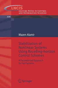 Stabilization of Nonlinear Systems Using Receding-Horizon Contro