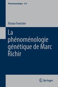 La phénoménologie génétique de Marc Richir
