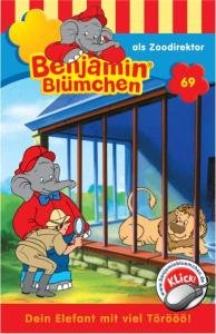 Benjamin Blümchen 069 als Zoodirektor. Cassette