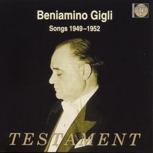 Beniamino Gigli-Songs 1949-1952