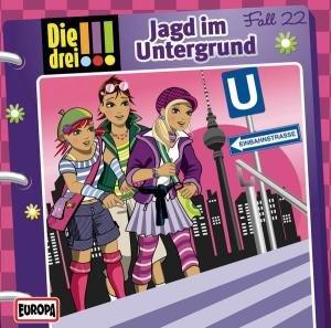 Die drei !!! 22: Jagd im Untergrund (Ausrufezeichen)
