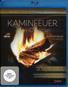 Kaminfeuer - UHD Edition (gedreht in 4K Ultra High Definition)Bl
