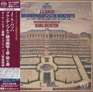 Brandenburgische Konzerte 4-6 BWV 1049-1051
