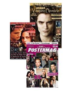 Icons Vampire Chronicle, limitiertes Bundle (3 Ausgaben): Poster