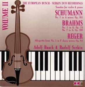 Busch-Serkin Duo Vol.2