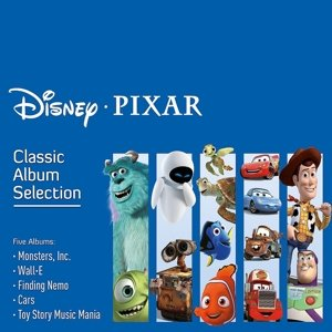Disney Pixar Classic Album Selection,Englisch,5cd