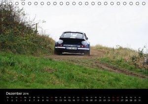 Bergrennen und Rallye im Porsche (Tischkalender 2016 DIN A5 quer