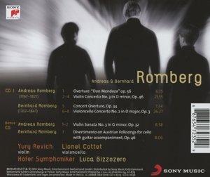 A. & B. Romberg: Violinkonzert 3,Cellokonzert 2