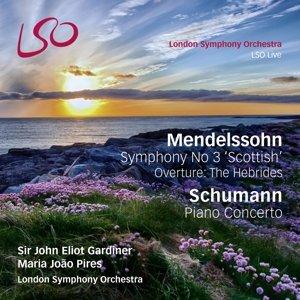 """Sinfonie 3 """"Schottische""""/Klavierkonzert"""