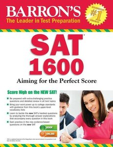 Barron\'s SAT 1600 with Online Test