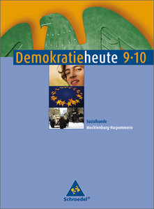 Demokratie heute 9/10. Schülerband. Sozialkunde Mecklenburg-Vorp