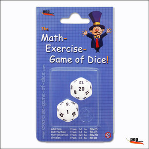 The Math-Exercise-Game of Dice