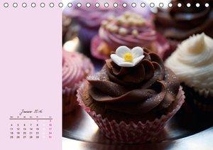 Cupcakes - lecker garniert (Tischkalender 2016 DIN A5 quer)