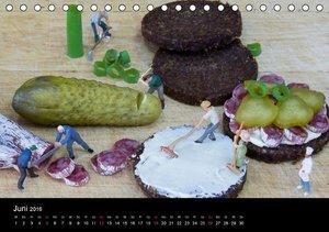Die wahren Küchenchefs (Tischkalender 2016 DIN A5 quer)