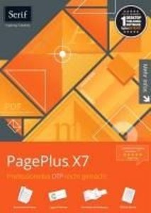 Serif PagePlus X7 für Windows® 8, 7, Vista
