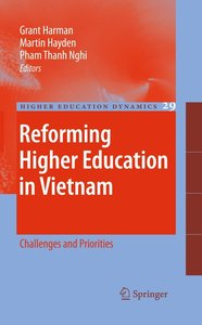 Reforming Higher Education in Vietnam