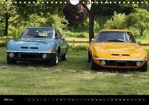 Opel GT Der Kalender (Wandkalender 2016 DIN A4 quer)