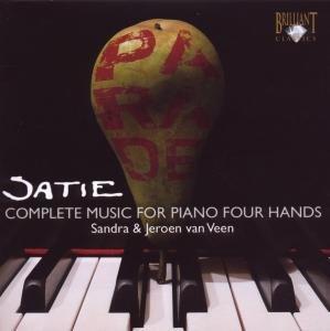 Satie:Sämtliche Werke für Klavier zu 4 Händen (GA)