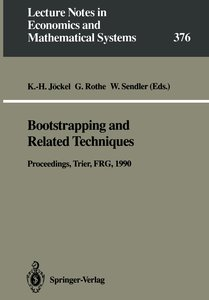 Bootstrapping and Related Techniques