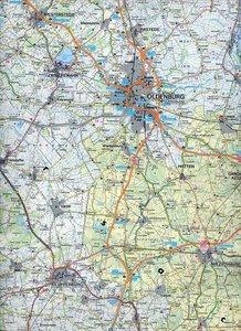 Deutschland 09 Niedersachsen, Bremen 1 : 200 000