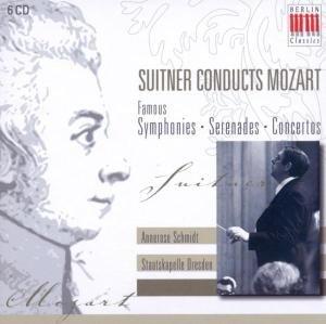Suitner Conducts Mozart-Famous Symphonies/+