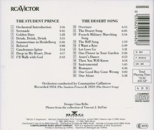 Student Prince & Desert Song (AZ)