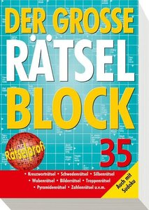 Der große Rätselblock 35