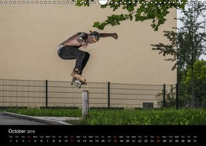 Skateboard - Street only (Wall Calendar 2015 DIN A3 Landscape)