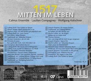 Mitten im Leben 1517 (Reformation,Luther)