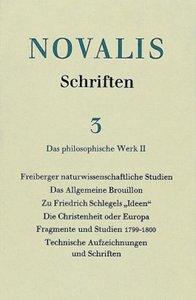 Das philosophische Werk II