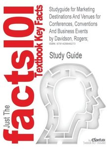 Studyguide for Marketing Destinations and Venues for Conferences
