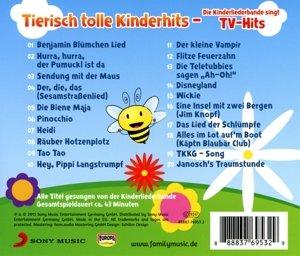 Tierisch tolle Kinderhits - Die Kinderliederbande
