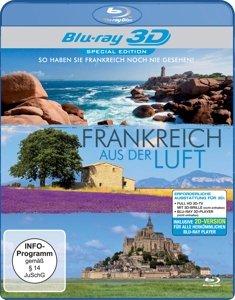 Frankreich aus der Luft (3D Shutter)