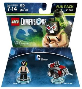 LEGO Dimensions - Fun Pack - DC Comics - Bane (71240)
